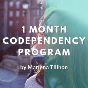 Codependency Coaching Program - 1 Month